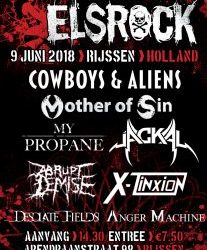 June 9th – Rijssen, ElsRock