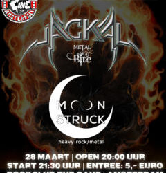 March 28th – Amsterdam Rockclub The Cave
